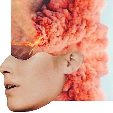 Mind. Explosion. Collection All White. Collage ® by creative-bubble