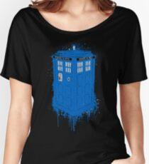 TARDIS  Women's Relaxed Fit T-Shirt