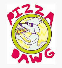 Pizza Dawg Photographic Print
