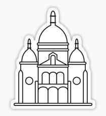 Sacre Coeur Basilica Sticker