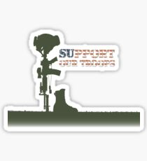 Support our Troops - Fallen Soldier Sticker