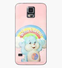 Wer kümmert sich um Bären? Hülle & Klebefolie für Samsung Galaxy