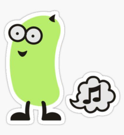Musical Bean VRS2 Sticker