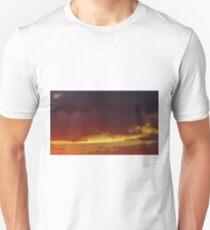 Sunset Sky Over South Brent T-Shirt