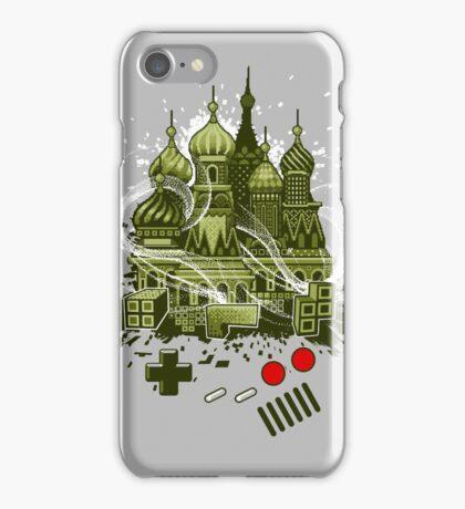 Tetris Gameboy Tribute to Alexey iPhone Case/Skin