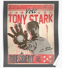 President Stark Poster
