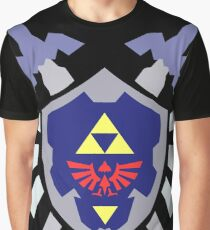 The hero of time, Link's shield Graphic T-Shirt