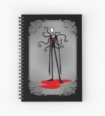 A Svelte Gentleman Spiral Notebook