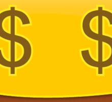 Money face emoji Sticker