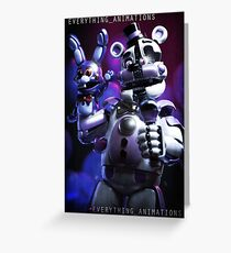 Funtime freddy Poster and more! fnaf sister location Greeting Card