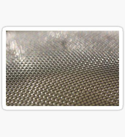 Steel Mesh Sticker