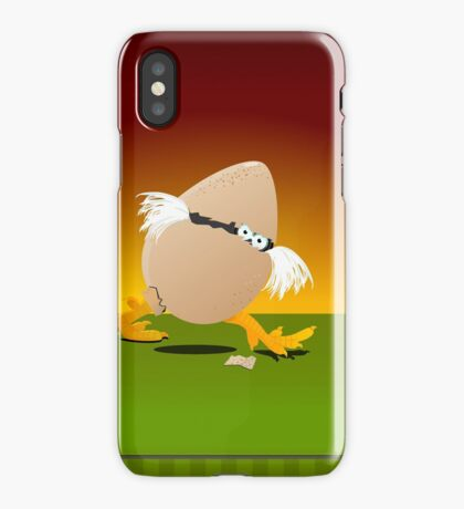Precocious Chicken VRS2 iPhone Case/Skin