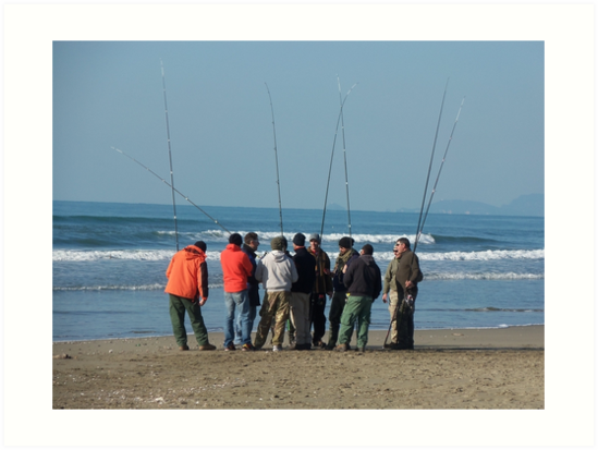 SURF CASTING FISHING- MARE-ITALIA-EUROPA- VETRINA RB EXPLORE 18 FEBBRAIO 2013 - by Guendalyn