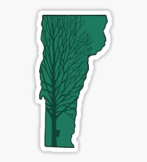 Vermont & Maple Tree Sticker