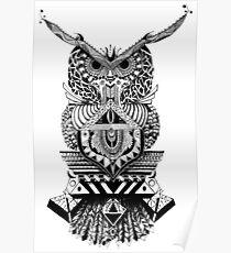 Búho Azura Poster