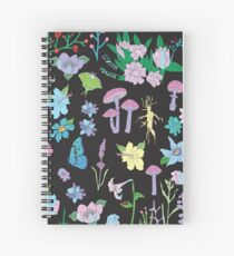 Garden Witch Spiral Notebook