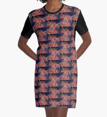 Zoe Graphic T-Shirt Dress