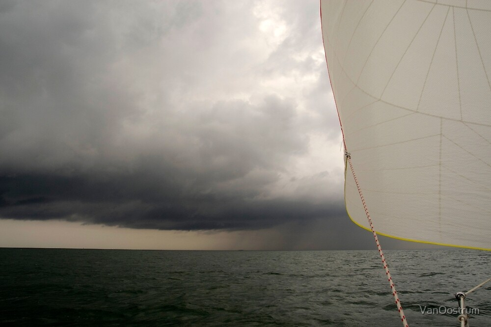 Sailing on the North Sea. by VanOostrum