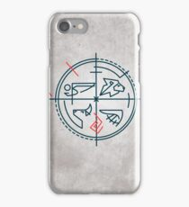 Abstract contemporary religious symbol iPhone Case/Skin
