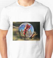 Pomagranate Snowball Split T-Shirt