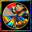 Rainbow Colour Wheel by Jane Marin