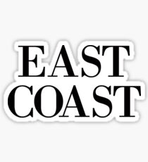 East Coast Sticker