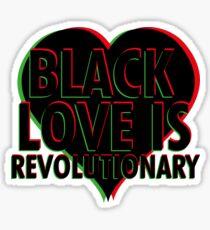 Black Love is Revolutionary Sticker