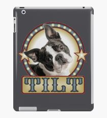 head tilt iPad Case/Skin