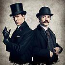 Sherlock - Benedict Cumberbatch by KnitzyBlonde