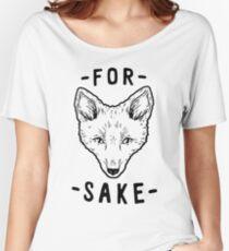 Camiseta ancha para mujer Por el bien de Fox
