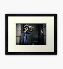 Sherlock - 221B Framed Print