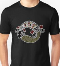 Aboriginal Art Authentic - The Gecko T-Shirt