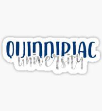 Quinnipiac University - Style 1 Sticker
