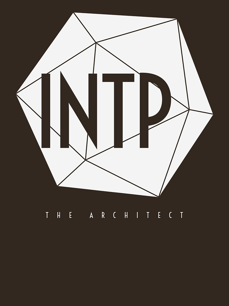 INTP The Architect - MBTI Type T-shirt / Phone case / Mug / More by zehel