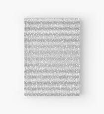 CATFA script Hardcover Journal
