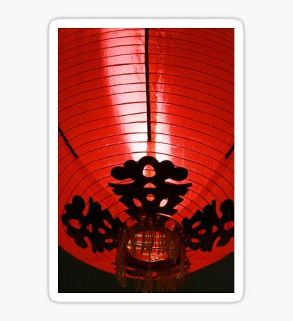 Modern Chinese Lantern II Sticker