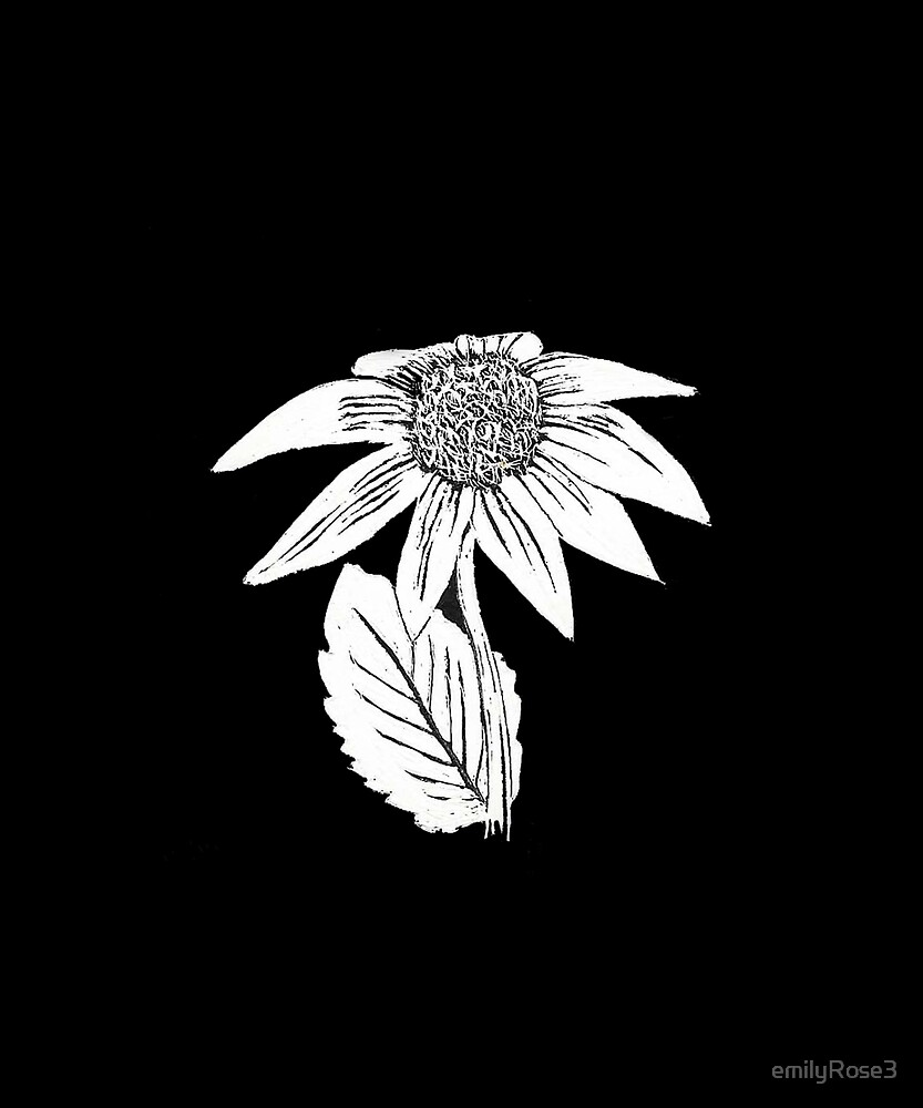 Sunflower in the Darkness by emilyRose3