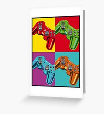 Videogames Greeting Card