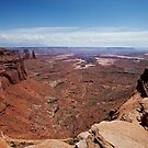 Canyonlands beyond Mesa Arch by Owed To Nature