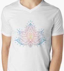 Lotus Mandala Illustration T-Shirt