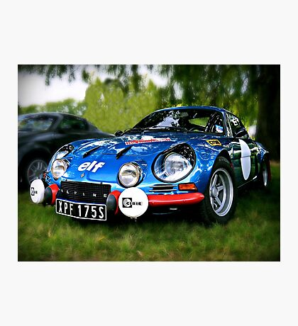 "The Alpine A110 ""Berlinette"" Photographic Print"