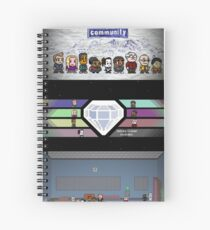 Community - Full Poster Spiral Notebook