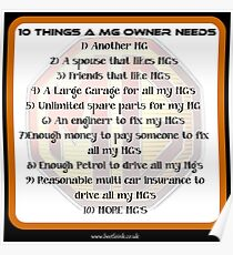 10 things MG Poster