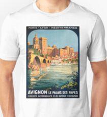 Avignon, French Travel Poster Unisex T-Shirt