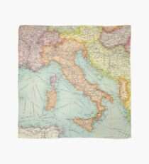 Vintage Italy map Scarf