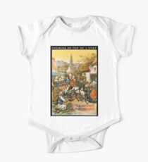 La Bretagne Pittoresque, French Travel Poster One Piece - Short Sleeve