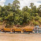 River Traffic 3 by Werner Padarin