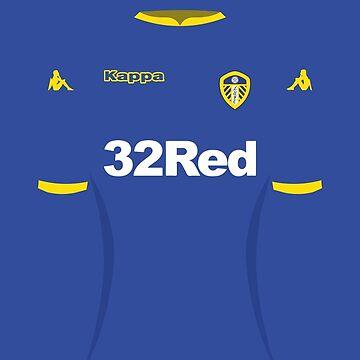 Leeds United Away Shirt 16-17 Phone Case for Samsung by danmarsham