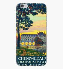 Chenonceaux, French Travel Poster iPhone Case