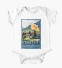 Deeside, British Travel Poster Kids Clothes